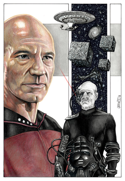 Picard - Locutus of Borg