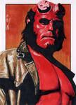 Hellboy - Sketch Card