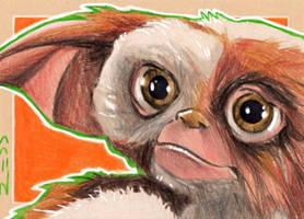 Gizmo - Gremlins -Sketch Card