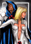 Cloak And Dagger - Sketch Card