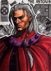 Magneto AOA - Sketch Card by J-Redd