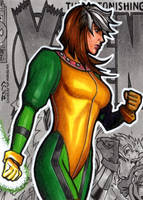 Rogue AOA - Sketch Card by J-Redd