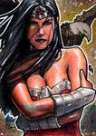 Wonder Woman - DC New 52 Artist Proof Sketch Card