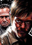 Daryl Dixon and Merle - Walking Dead