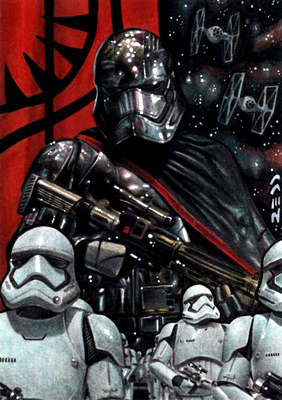Star Wars Episode VII - The Force Awakens by J-Redd
