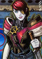 Petra Venj - Destiny Sketch Card by J-Redd