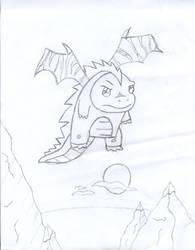 Dragon +2.00+ Sketch by ohaku-sama