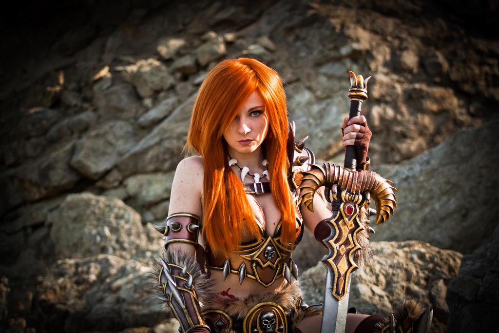 Diablo III Barbarian by andyrae