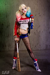 Harley Quinn- Suicide Squad Movie by andyrae