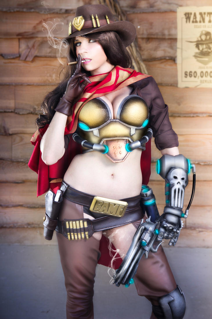 Another Mccree shot!!! by andyrae