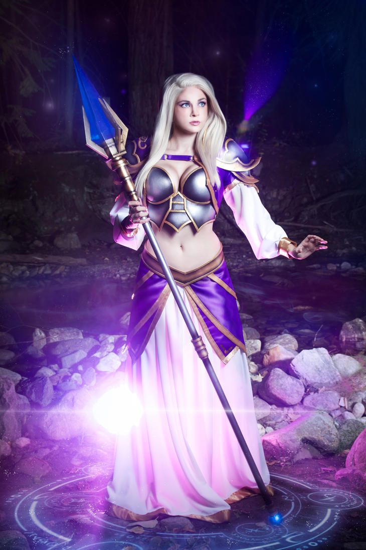 Jaina Proudmoore by andyrae