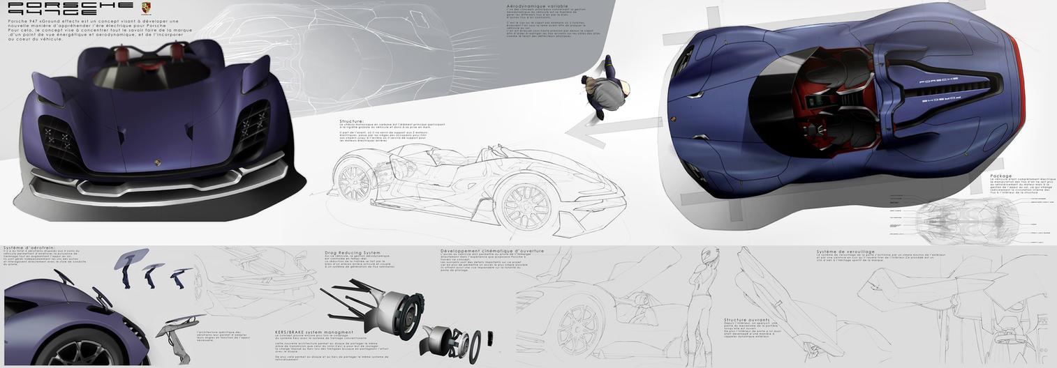 Porsche 947GE Concept details part 1 by s-redha