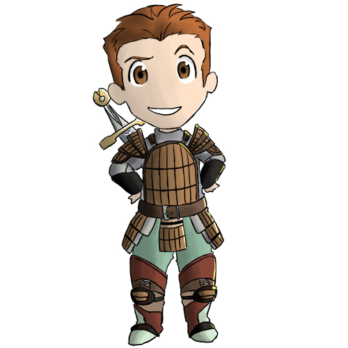 Dragon Age - Chibi Alistair by vidramidra