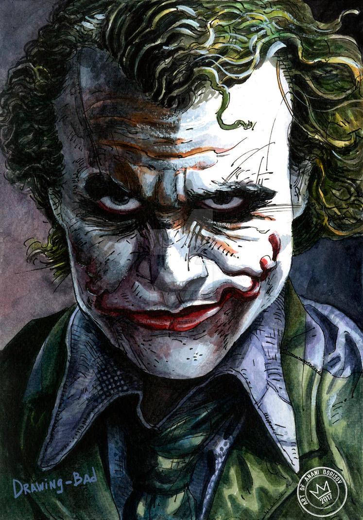 Joker by Drawing-Bad