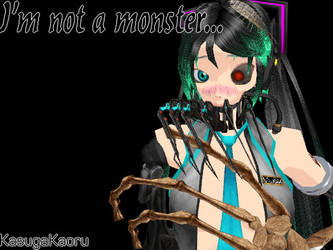MMD Monster by KasugaKaoru