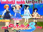 LoveDeath3 models UPDATE