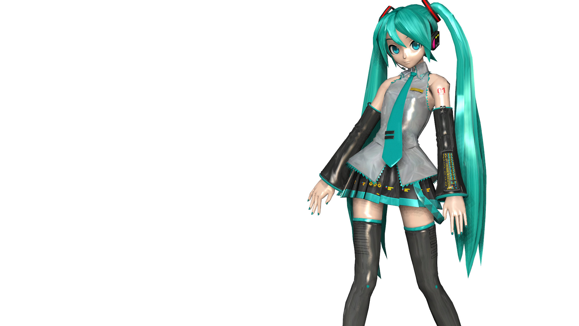 3d mmd hatsune miku loses her gym clothes in girls 2