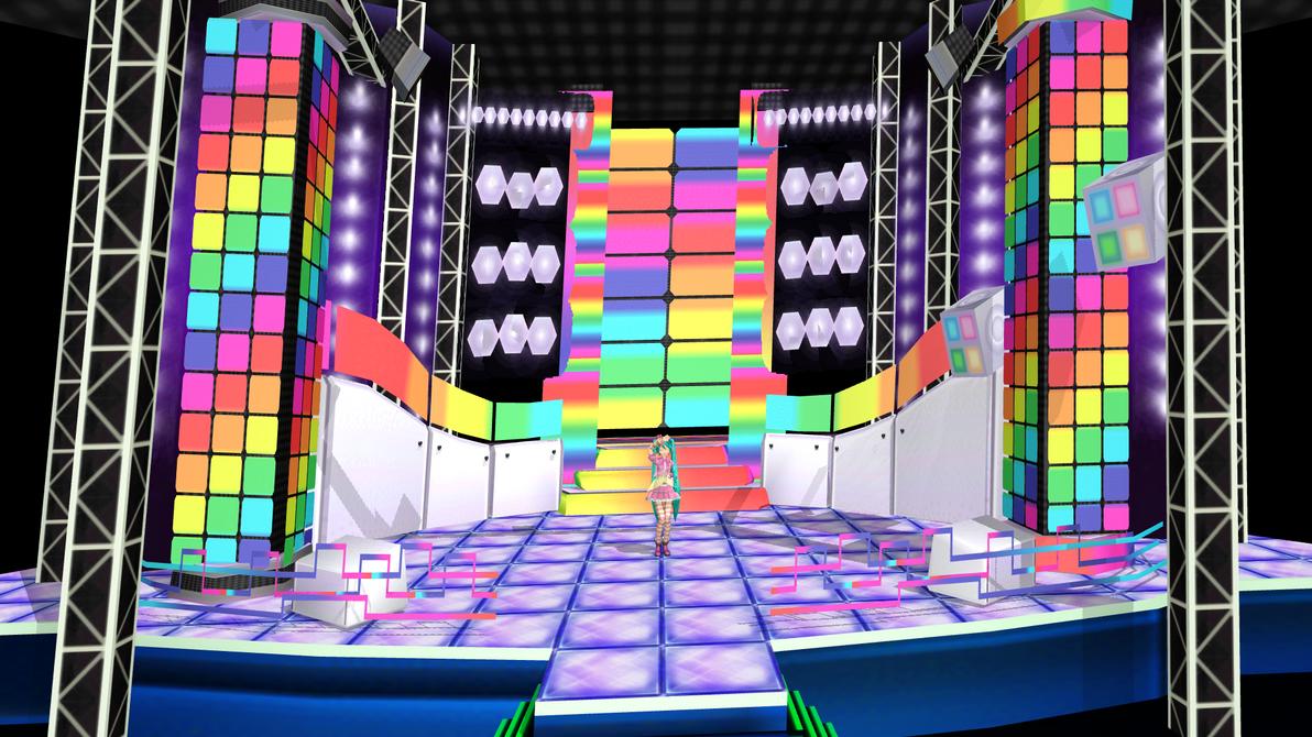 Os traigo una stage _mmd__koi_suru_voc_loid_stage_download_by_kasugakaoru-d55jche