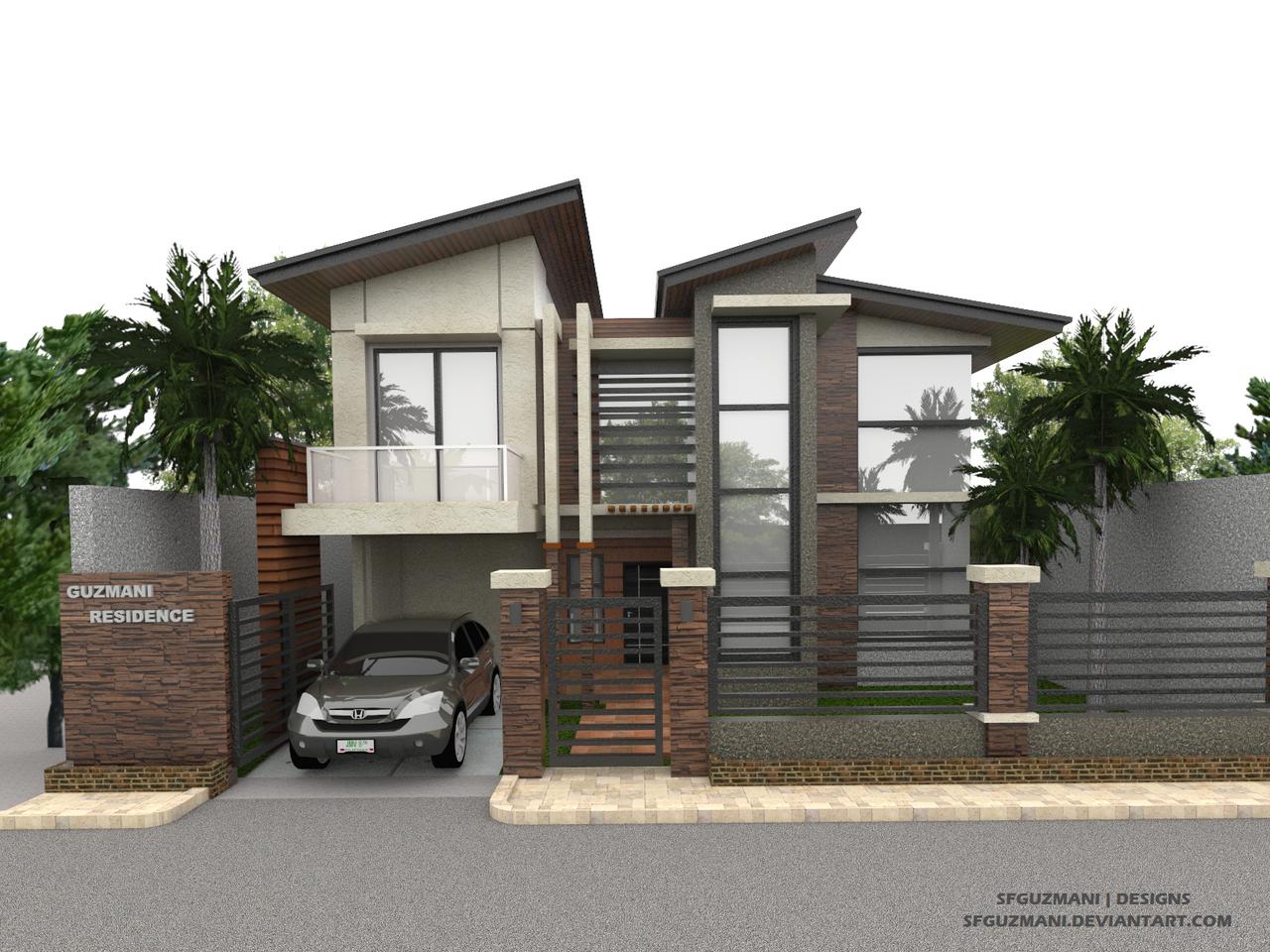 3D Modeling Practice Modern House by Sfguzmani on DeviantArt