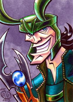Loki Sketch Card by Chad73