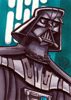 Darth Vader Sketch Card by Chad73