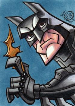 Batman Dark Knight Sketch Card by Chad73