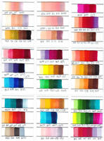 Copic Marker Colour Combinations by Chad73