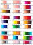 Copic Marker Colour Combinations