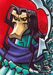 Death Darksiders Sketch Card