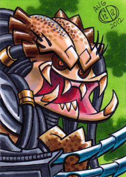 Predator Sketch Card by Chad73