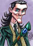 Loki in Stuttgart Sketch Card