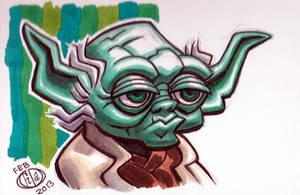 Yoda by Chad73