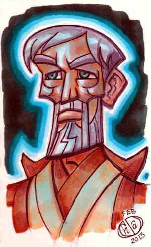 Ghost of Obi Wan Kenobi by Chad73