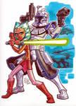 Ahsoka Tano and Captain Rex
