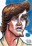 Luke Tatooine Sketch Card