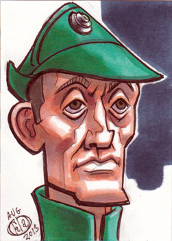 Admiral Piett Sketch Card by Chad73
