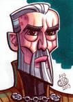 Count Dooku Sketch Card