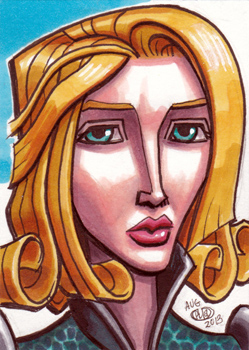 Duchess Satine Sketch Card by Chad73