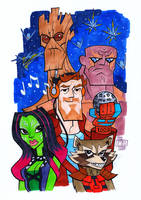 Guardians of the Galaxy by Chad73