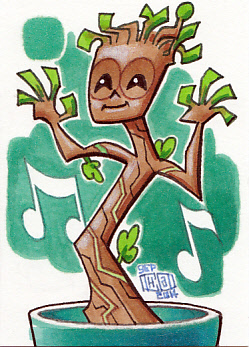 Dancing Baby Groot by Chad73