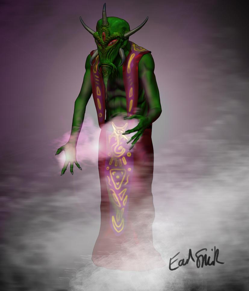 Quachar Mystic 1 by ZenAdAstra
