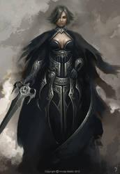Sword Lady by HrvojeBeslic