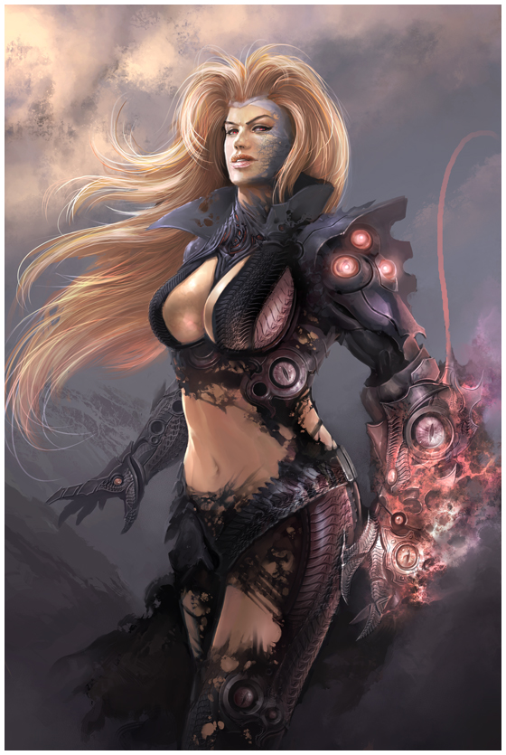Witchblade by HBDesign