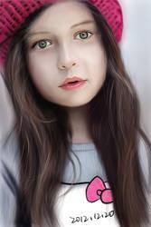 Foreign little girl by sense983