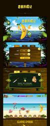 Banana adventure -GUI by sense983