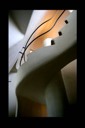 GAUDI STAIRS by ScarredWolfphoto