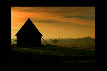 MORNING BARN II by ScarredWolfphoto