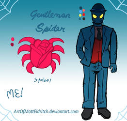 Gentleman Spider (Spidersona) by ArtOfMattEldritch