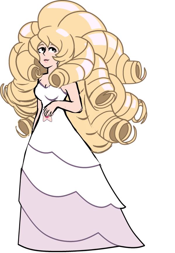 Rose Quartz Steven Universe Hair Template: Rose Quartz By Fixing-SU On DeviantArt