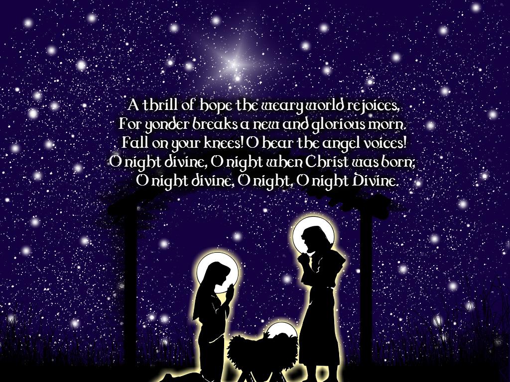 Holy Night by go...O Holy Night Background